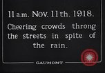 Image of Armistice Day London England United Kingdom, 1918, second 3 stock footage video 65675024160