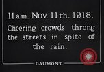 Image of Armistice Day London England United Kingdom, 1918, second 4 stock footage video 65675024160