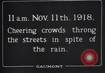 Image of Armistice Day London England United Kingdom, 1918, second 5 stock footage video 65675024160