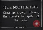 Image of Armistice Day London England United Kingdom, 1918, second 6 stock footage video 65675024160