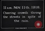 Image of Armistice Day London England United Kingdom, 1918, second 7 stock footage video 65675024160