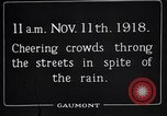 Image of Armistice Day London England United Kingdom, 1918, second 10 stock footage video 65675024160