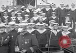Image of French military Medals presented to Naval officers France, 1917, second 6 stock footage video 65675024162