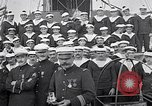 Image of French military Medals presented to Naval officers France, 1917, second 8 stock footage video 65675024162
