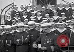 Image of French military Medals presented to Naval officers France, 1917, second 11 stock footage video 65675024162