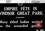 Image of Empire fete Windsor Park England, 1917, second 1 stock footage video 65675024164