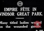 Image of Empire fete Windsor Park England, 1917, second 2 stock footage video 65675024164