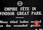 Image of Empire fete Windsor Park England, 1917, second 3 stock footage video 65675024164