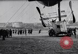 Image of Amphibian Blimp Saint Malo France, 1912, second 2 stock footage video 65675024167