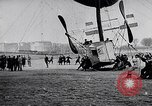 Image of Amphibian Blimp Saint Malo France, 1912, second 6 stock footage video 65675024167