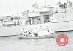 Image of Chicago greets captured German U-505 Chicago Illinois USA, 1954, second 8 stock footage video 65675024186