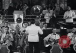 Image of Guillermo Portela conducting orchestra Havana Cuba, 1938, second 2 stock footage video 65675024199