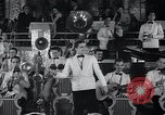 Image of Guillermo Portela conducting orchestra Havana Cuba, 1938, second 10 stock footage video 65675024199