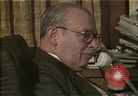 Image of Philanthropist Eugene Lang New York United States USA, 1985, second 3 stock footage video 65675024221