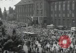 Image of Protestors Berlin West Germany, 1954, second 1 stock footage video 65675024236