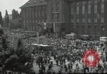 Image of Protestors Berlin West Germany, 1954, second 2 stock footage video 65675024236