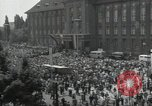 Image of Protestors Berlin West Germany, 1954, second 4 stock footage video 65675024236