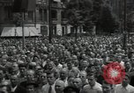 Image of Protestors Berlin West Germany, 1954, second 7 stock footage video 65675024236