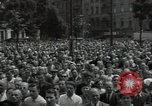 Image of Protestors Berlin West Germany, 1954, second 9 stock footage video 65675024236