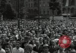 Image of Protestors Berlin West Germany, 1954, second 10 stock footage video 65675024236