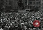 Image of Protestors Berlin West Germany, 1954, second 11 stock footage video 65675024236
