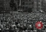 Image of Protestors Berlin West Germany, 1954, second 12 stock footage video 65675024236