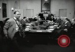 Image of President Eisenhower and Cabinet Washington DC USA, 1953, second 5 stock footage video 65675024250