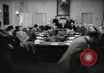 Image of President Eisenhower and Cabinet Washington DC USA, 1953, second 6 stock footage video 65675024250