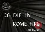 Image of Fire Rome Italy, 1947, second 2 stock footage video 65675024252