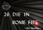 Image of Fire Rome Italy, 1947, second 3 stock footage video 65675024252