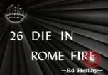 Image of Fire Rome Italy, 1947, second 5 stock footage video 65675024252