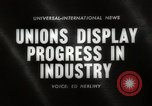 Image of Unions Display United States USA, 1961, second 3 stock footage video 65675024255