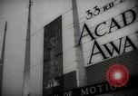 Image of 33rd Academy Awards Santa Monica California USA, 1961, second 10 stock footage video 65675024256