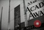 Image of 33rd Academy Awards Santa Monica California USA, 1961, second 11 stock footage video 65675024256
