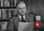 Image of Colonel William Joseph Donovan New York City USA, 1941, second 10 stock footage video 65675024275