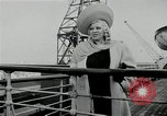 Image of Mae West South Hampton England, 1941, second 9 stock footage video 65675024279