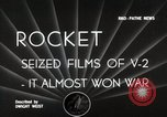 Image of V-2 Rockets Germany, 1943, second 2 stock footage video 65675024298