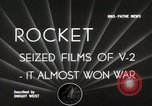 Image of V-2 Rockets Germany, 1943, second 5 stock footage video 65675024298