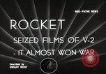 Image of V-2 Rockets Germany, 1943, second 6 stock footage video 65675024298