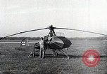 Image of Dr. Friedrich Dablhoff  and helicopter with jet-propelled blades Ohio United States USA, 1946, second 1 stock footage video 65675024304