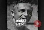 Image of Rudolf Nebel, Reinhold Tiling and Eugene Sanger in German Germany, 1934, second 6 stock footage video 65675024368