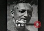 Image of Rudolf Nebel, Reinhold Tiling and Eugene Sanger in German Germany, 1934, second 7 stock footage video 65675024368