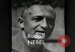 Image of Rudolf Nebel, Reinhold Tiling and Eugene Sanger in German Germany, 1934, second 8 stock footage video 65675024368