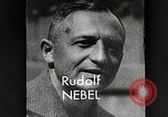 Image of Rudolf Nebel, Reinhold Tiling and Eugene Sanger in German Germany, 1934, second 9 stock footage video 65675024368