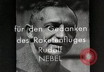 Image of Rudolf Nebel, Reinhold Tiling and Eugene Sanger in German Germany, 1934, second 10 stock footage video 65675024368