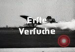 Image of Flight of first rocket-propelled airplane Germany, 1928, second 4 stock footage video 65675024370