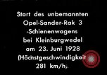 Image of Rocketry Germany, 1928, second 1 stock footage video 65675024377