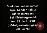 Image of Rocketry Germany, 1928, second 2 stock footage video 65675024377