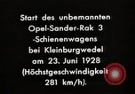 Image of Rocketry Germany, 1928, second 4 stock footage video 65675024377
