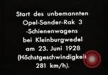 Image of Rocketry Germany, 1928, second 5 stock footage video 65675024377